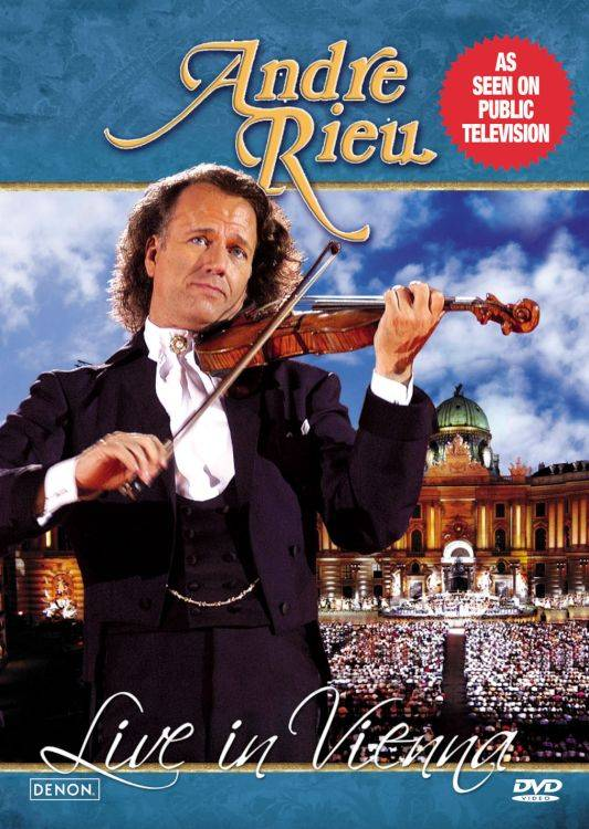LIVE IN VIENNA BY RIEU,ANDRE (DVD)